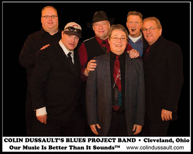 Colin Dussault Blues Project Band 2016