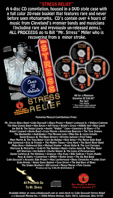 Mr Stress CD